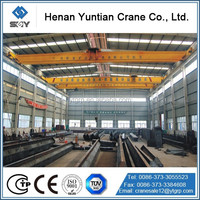 China No.1 Crane Manufacture Top Quality Single Girder Overhead Crane 10t For Sale