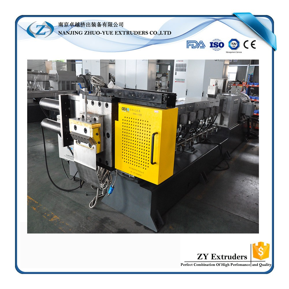 recycle plastic pvc granulating/granule production line extruder machine manufactory