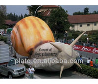 Advertising inflatable animal giant snails for sale