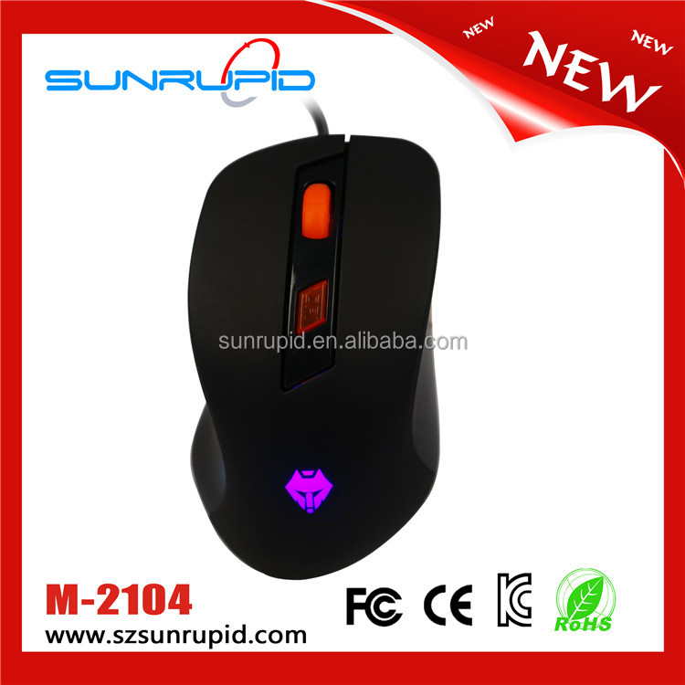 Pro Gamer mouse LED USB Wired RGB gaming Ergonomic PC mouse for PC Laptop