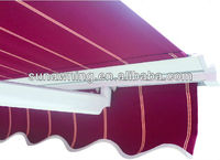 SF-R-1000 CE metal roof awning
