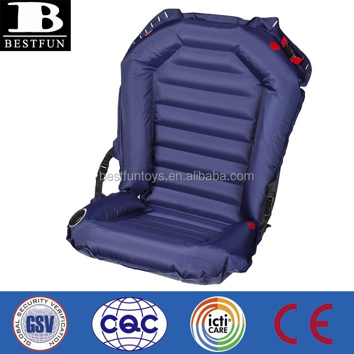 TPU coated with fabric China Supplier inflatable car seat portable baby car seat child foldable car seat