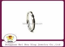 316l Stainless Steel Ring,fashion ring engraved silver plated enamel men women Ring