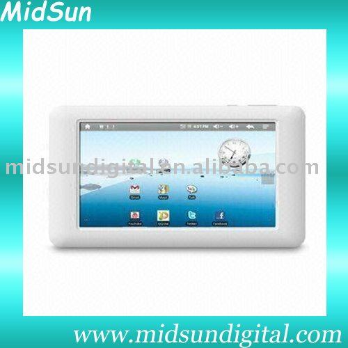 tablet pc gps dvb-t mid capacitance touch screen built in 3G and GPS android 2.2 sim card slot GSM phone