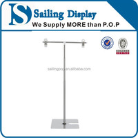 Customized trade show poster stand for display