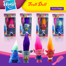new style long hair cartoon toy Vinyl troll dolls