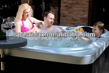 SpaRelax Bubble Therapy Inflatable Portable Hot Tub Spa