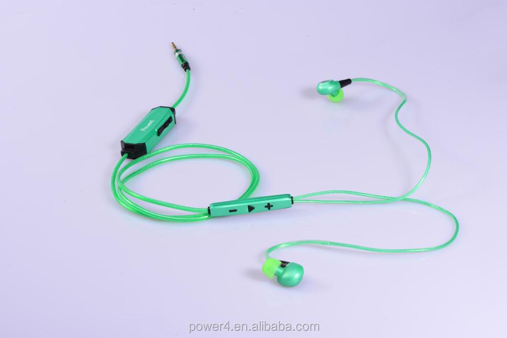 Running earbuds plug in - earplug earbuds
