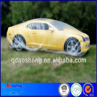 Clear plastic pe film disposable quick car cover auto covers