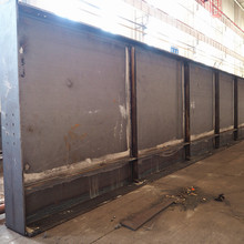 Steel Structral Fabrication Light Weight Q345 Welded Steel H Beam