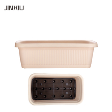 rectangular vegetable plastic containers for plants pots