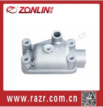 ZL-OE4018 Aluminum casting CNC machined auto components motor cover LIN GONG 515
