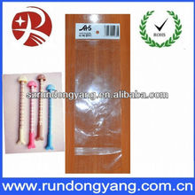 pvc opp bag header