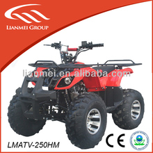 loncin/lifan quad 250 atv for adult wtih ce