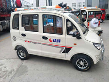 Good quality four wheel 16e smart 4 seat electric car new DF12
