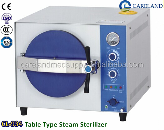 Table Type medical hospital B class dental autoclave pressure Steam Sterilizer