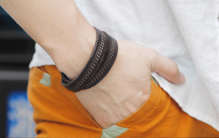Personalized Spanish Cheap Leather Bracelets For Small Wrists