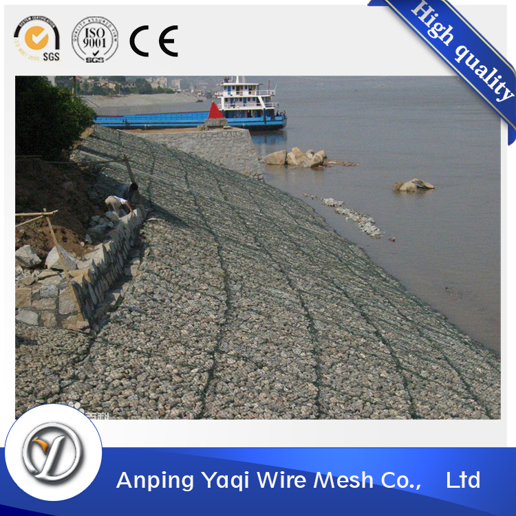 Competitive price flexible sand filled hexagonal welded gabion box