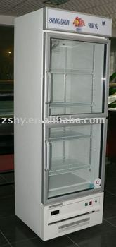 Upright Freezer Showcase with ASPERA Compressor