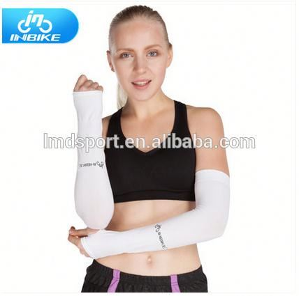 Wholesale Compression spandex cycling top cool arm sleeve