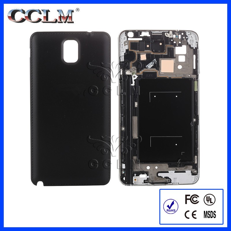 Full Housing Cover Frame Door Back Rear Battery Cover Case For Samsung Galaxy Note3 Note 3 N9005