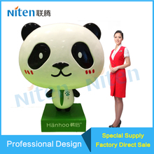Life Size Cartoon Advertising Display FRP Fiberglass ISO Resin Sculpture Animal Fiberglass