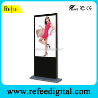 Advertising products display LCD Floor standing AD player, LG touch screen advertisiments