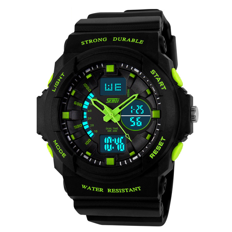 2017 <strong>hot</strong> selling waterproof best mens digital sports watches from skmei original factory