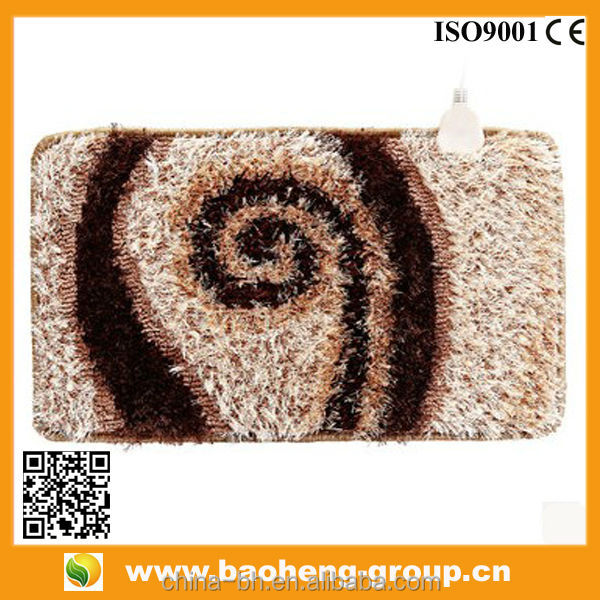 FAR INFRARED SHAGGY TURKEY ELECTRIC HEATED RUGS AND CARPETS