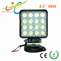 "12/24v 4"" 27w 48w led truck work light,led work lamp,spot/flood beam"
