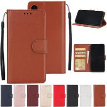 Wholesale Cool Classic Solid Color Flip PU Leather Protective Cell Phone Cases For iPhone Note 8