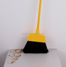 HQ0133D plastic brush and broom factory sale large outdoor street broom angle garden besom