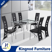 High quality dining table, table legs wrought iron