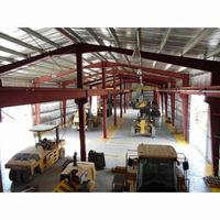 light weight steel fabrication structure prefabricated modular building for sale
