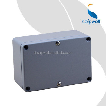 Saipwell Diecast Waterproof Aluminum Box 120*80*55 IP66 Outdoor Project Enclosure Metal Junction Box