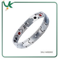 Stainless Steel Men's Therapy Energy Magnets Bracelet