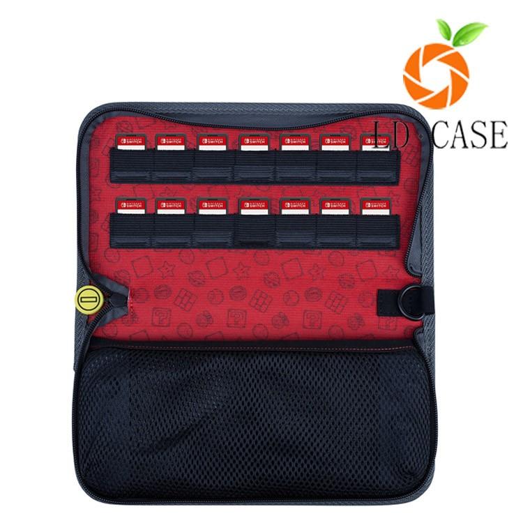 Factory price easy to carry video game player case for nintendo