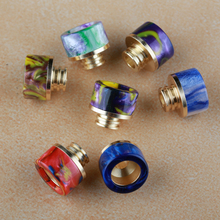 Colorful 810 resin expansion drip tips 510 with good quality china wholesale cheap price silicone vape