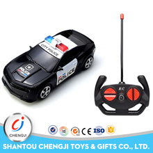 Low Price 4channel police toy model rc car 1:24 scale