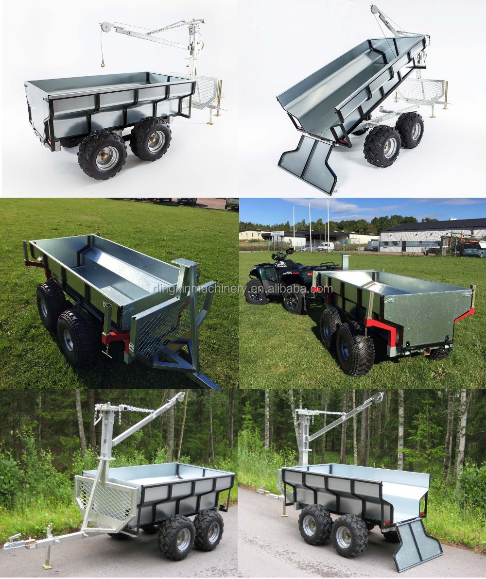 Galvanized Caged Utility Box Trailer For Sales