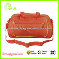 High quality orange weekend duffel bag