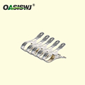 5pcs Pack Durable S/S Quolt clips 4.5'