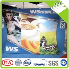 150gsm knitted white polyester stretch backdrop fabric