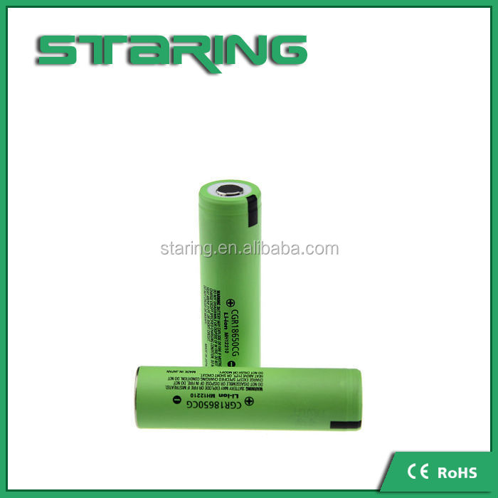 lithium ion rechargeable battery 2200mah 3.7v CGR18650CG for icr18650 3.7v 2200mah li-ion battery rechargeable battery