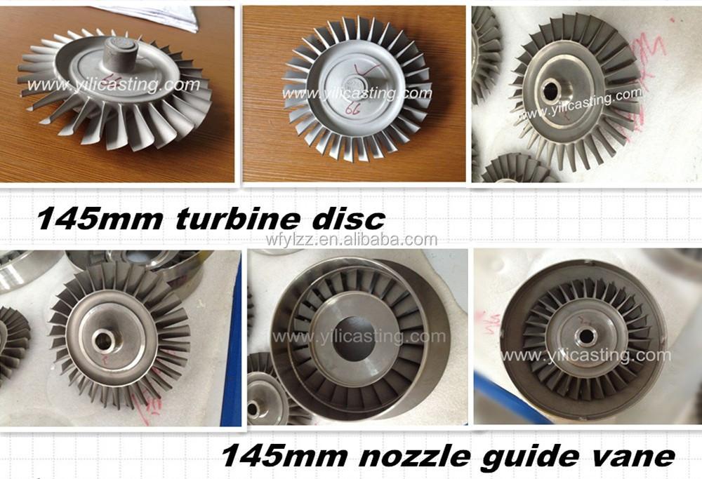 Superalloy Turbojet Aviation Engine Parts Turbine Blade
