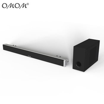 OHM SB200B bt wireless Sound Bar with external subwoofer for TV House Party