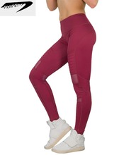 Wholesale sexy high waisted workout legging with pockets for women