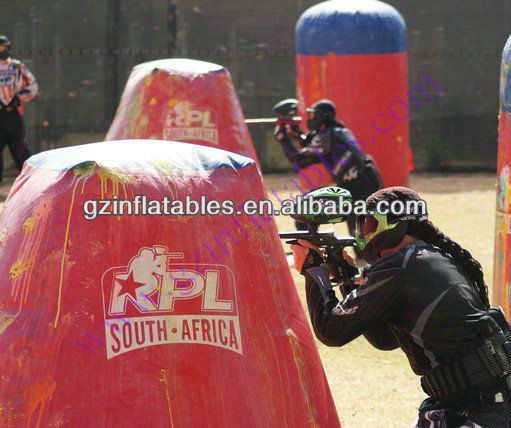 Millenium paintball field,Inflatable Paintball Bunkers Arena with good quality