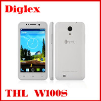 THL W100s Smartphone MTK6582 Quad Core 1.3GHz 4.5 inch IPS Screen Android 4.2 1GB 4GB-White/Black