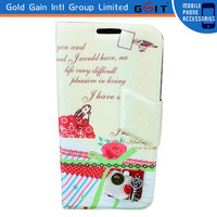 Flip Cover For Galaxy S4 i9500, For Samsung S4 Cover